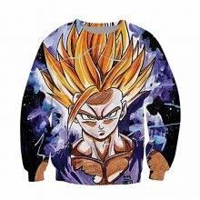 Dragon Ball Son Gohan Printed Sweatshirt
