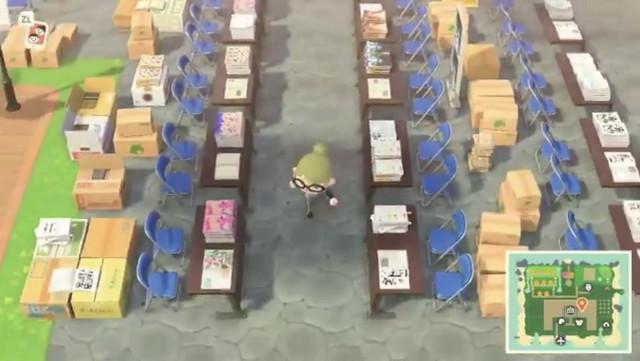 Japanese Twitter User Recreates Comiket In Animal Crossing New Horizons Hokagestorez